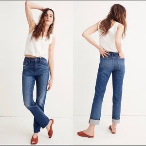 Madewell The High Rise Slim BoyJean Sz 31